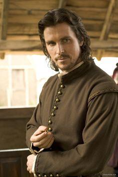 John Rolfe - Christian Bale in The New World (2005).
