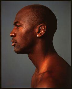 ANNIE LEIBOVITZ (American, b. 1949). Michael Jordan, New York, 1991