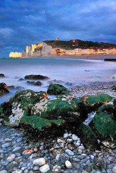 Quand la marée monte, Etretat, France Landscape Wallpaper, Normandy, Water, Outdoor, France, Europe, Pictures, Normandie, Gripe Water