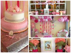Ballerina themed baby shower