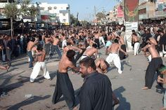 10 Bizarre Traditions~Mourning of Muharram..important period of mourning in Shia Islam,...