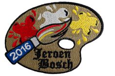 """Het thema van Oeteldonk 2016: """"Oeteldonk, dè's écht Bosch"""" Een """"moetje"""" voor oew Jeske of kiel in 2016. Het jaar dat de grote meester Jheronimus Bosch, in 1516, 500 jaar geleden is overleden."""