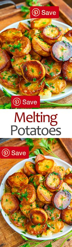 Melting Potatoes 45 mins to make serves 4 Ingredients Vegetarian Gluten free easys Produce 1 lbs Fleshed potatoes yellow 2 Garlic cloves 1 tsp Thyme Canned Goods 1 cup Chicken broth or vegetable broth Condiments 1 tbsp Lemon juice Baking & Spices 1 Salt and pepper Dairy 4 tbsp Butter