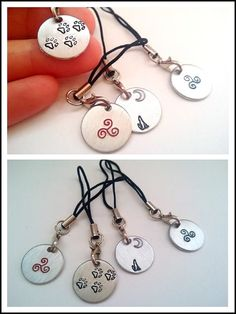 Teen Wolf Phone Charm or Keychain by flylikehermes on Etsy, $4.00