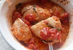 Baked Chicken in Creamy Tomato Sauce, just 5 ingredients! (Dinner, A Love Story)