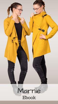 Marnie kann als Jacke oder Cardigan gearbeitet und getragen werden.   Sie  ist einfach cb565250250