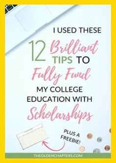 The top tips for finding and winning college scholarships. Learn how you can graduate college debt free and fund your college experience through your senior year. Great for students of all ages. Includes a free scholarship spreadsheet to kickstart your jo Grants For College, Financial Aid For College, College Planning, Online College, College Hacks, Education College, College Life, College Scholarships, College Checklist