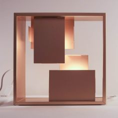 Artemide | Fato copper table light | 2014 Frankfurt Light & Building exhibition @Luxologie #LB14