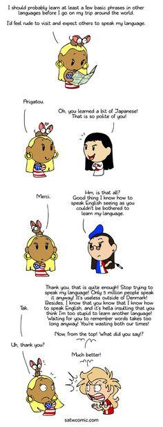 Language Barrier - Scandinavia and the World Funny Memes, Hilarious, Jokes, Satw Comic, Cute N Country, History Memes, Funny Comics, Comic Strips, Funny Pictures