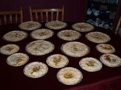 Christmas meat pies