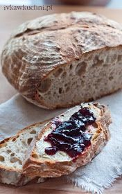 My Favorite Food, Favorite Recipes, Bread Recipes, Cooking Recipes, Polish Recipes, Polish Food, Our Daily Bread, Sourdough Bread, Artisan Bread