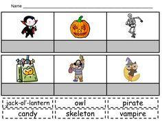 Kindergarten Celebration: Halloween Activities :)
