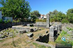 Zeus & Hera Gate, Limenas, Thassos