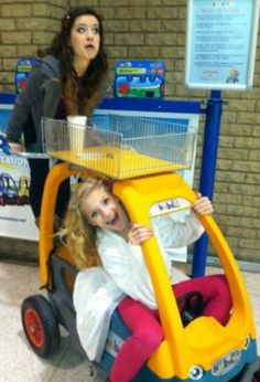 Brooke and Paige Hyland :) me and my sister loved doing this!