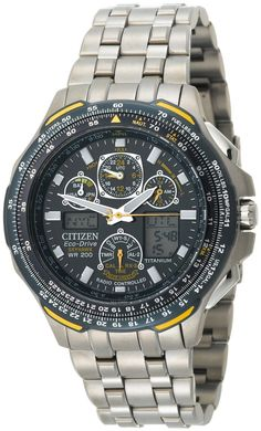 My firsy Citizen Eco-Drive Blue Angels Skyhawk A-T Chronograph Titanium  Watch. 866a132151