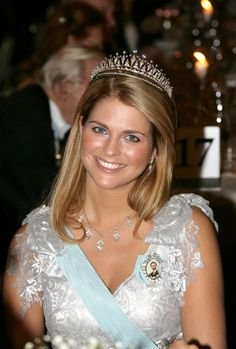 She is currently fourth in line of succession and holds the titles Princess Madeleine of Sweden and Duchess of Hälsingland and Gästrikland. Description from royalweddings.hellomagazine.com. I searched for this on bing.com/images