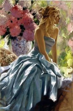 """Romanza"" by Richard S Johnson - More at http://maherartgallery.blogspot.com.br/2012/03/richard-s-johnson.html (Thx Bev)"