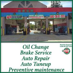Come and See Us for the Auto Tuneup in Rancho Cucamonga | Oil Change in Rancho Cucamonga | Rancho Express Lupe
