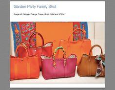 Hermes Garden Party TPM Orange ~ Newest Carryall bag desire | Bag ...
