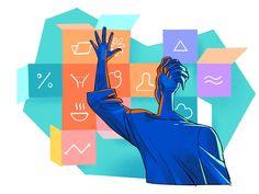 Digital illustrations for designers Digital Illustration, Designers, Packaging, Organization, Illustrations, Logos, Art, Getting Organized, Art Background