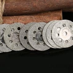 10x22mm grinding Circular Saw Cutting Disc Dremel Rotary Tool Dremel accessories w/ arbor drill Cut Off Wheel Diamond Disc