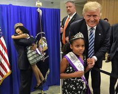 "When Little Miss Flint met President Obama. When Little Miss Flint met ""He Who Must Not Be Elected"". Remember, Don't BOO - VOTE! ===>http://bit.ly/justvote2016"