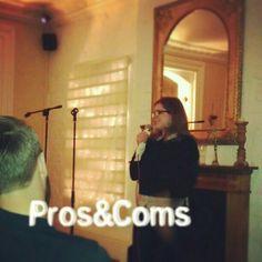 Gina on #prosandcoms 20/02/14