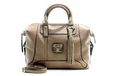 Guess Women's Gerri Satchel Tan Handbag « Holiday Adds