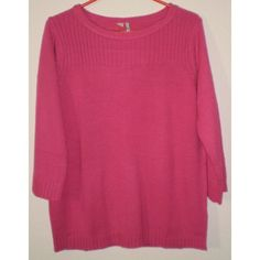 Cerise Pink Jumper 3/4 Sleeved Size 12-14, New with Tags Listing in the Knitwear & Fleeces,Womens Clothing,Clothes, Shoes, Accessories Category on eBid United Kingdom | 146133660