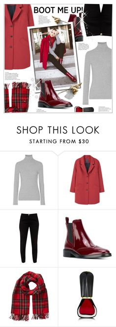 """""""Chelsea boots...."""" by stranjakivana ❤ liked on Polyvore featuring James Perse, Violeta by Mango, Ted Baker, Burberry, Phase Eight, Oribe, polyvoreeditorial and chelseaboots"""