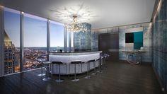Opus Place website launches, offering comprehensive look inside Atlanta's most expensive address - Curbed Atlanta Atlanta Condo, Condo Interior Design, Most Expensive, Design Art, Product Launch, Places, Rooms, Wine, Bar