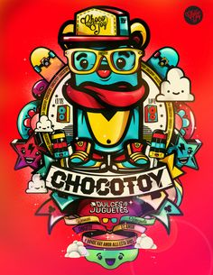 collection of illustrations/2013 by ChocoToy , via Behance