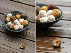 Полезные шарики с арахисовым маслом