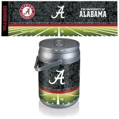 Can Cooler - Silver/Gray (University of Alabama - Crimson Tide) PT Sports