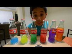Xanderlophone! Music instrument made of Coca Cola bottle and water! - YouTube