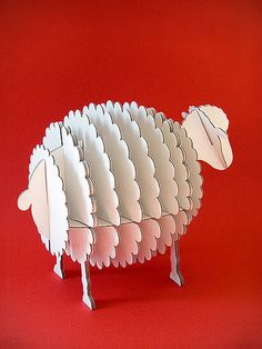 Cardboard Sheep. ------- PAR_DSCN2845   Flickr - Photo Sharing!
