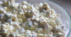 Sałatka a'la sos tatarski Potato Salad, Potatoes, Ethnic Recipes, Food, Potato, Essen, Meals, Yemek, Eten