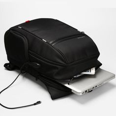 e258bfa189 Laptop Backpack With External USB Charge  Laptop Backpack  Anti-Theft   Waterproof Bag  For Men Or Women