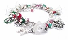 The Holly King Winter Solstice Pagan Bracelet by BrighidsJewellery