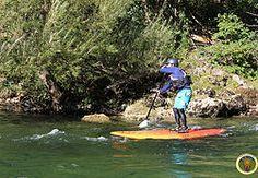 stand up paddle a la Malene dans les gorges du Tarn.
