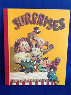 Surprises a Houghton Mifflin 1976 Softcover Beginning Reader Textbook Vintage School Book Homeschool by yourmamashouse on Etsy