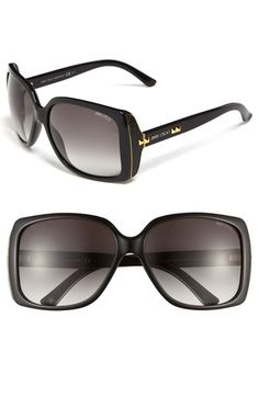 Jimmy Choo Classic Sunglasses available at #Nordstrom