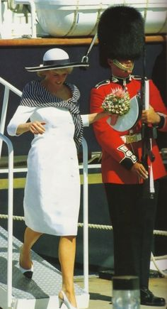 25 Jan 1988 at the ceremony to hand over Britain's official gift to Australia, the ship the Young Endeavour