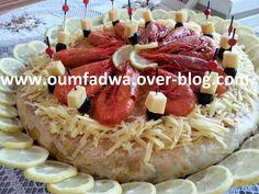 exemple decoration pastilla aux fruits de mer