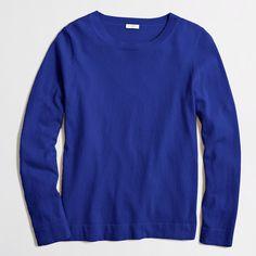 Cotton-wool Teddie sweater : Pullover | J.Crew Factory