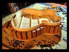 Folk guitar construction