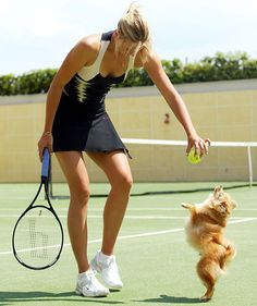 A great way to enjoy the outdoors and staying active.  Grab a racket and play some tennis.