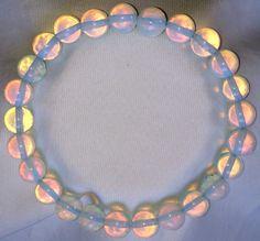 Mondstein Heilstein Perlen Armband