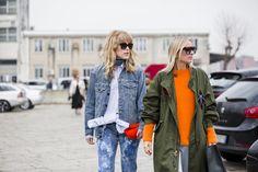Annabel Rosendahl & Céline Aagaard at Diesel