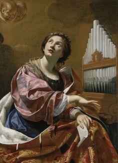 Simon Vouet, Saint Cecilia
